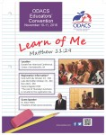 2016 Convention Flyer