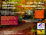 2011 ODACS Educators' Convention Flyer